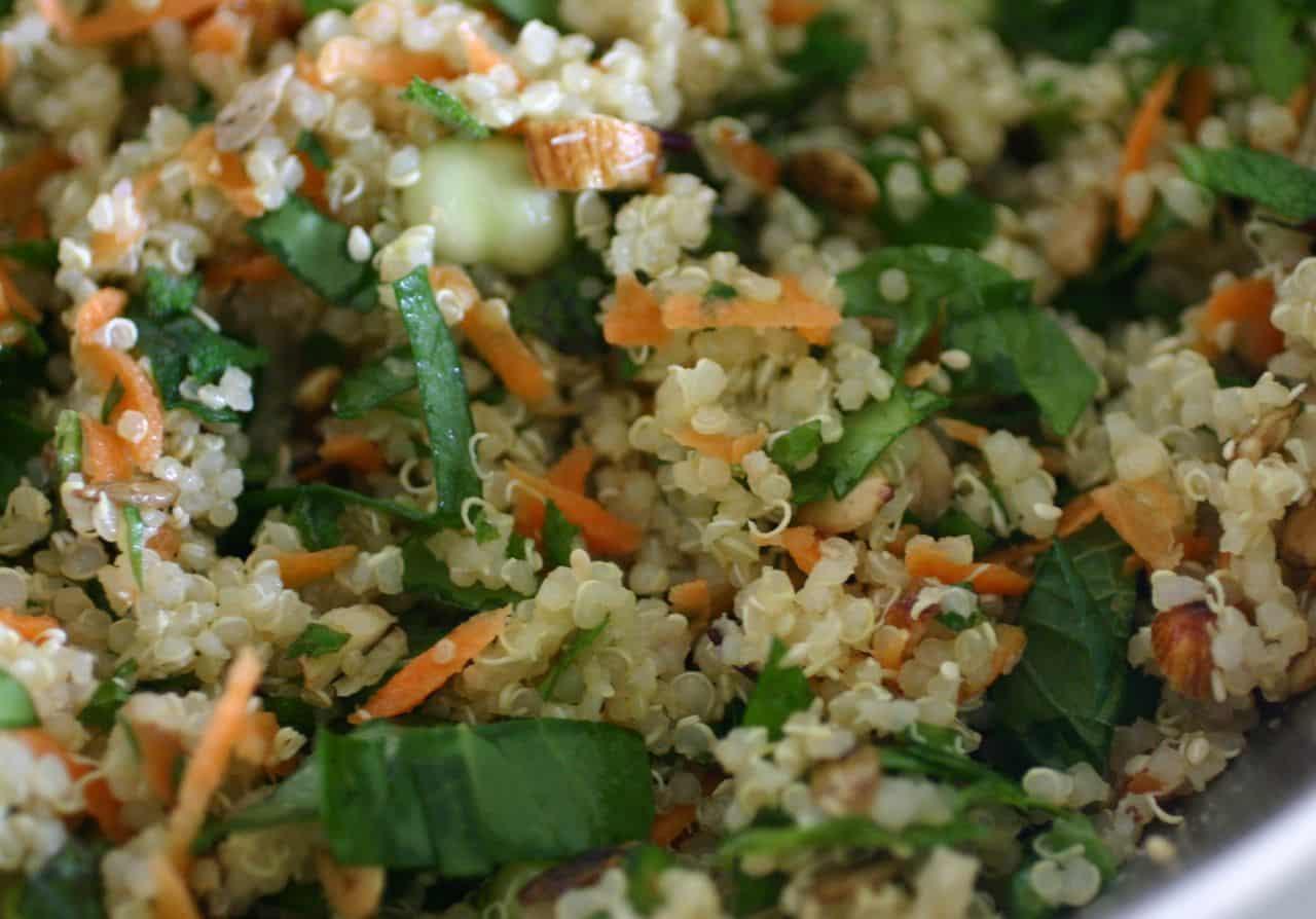 Quinoa Salad Recipe   Healing the Body