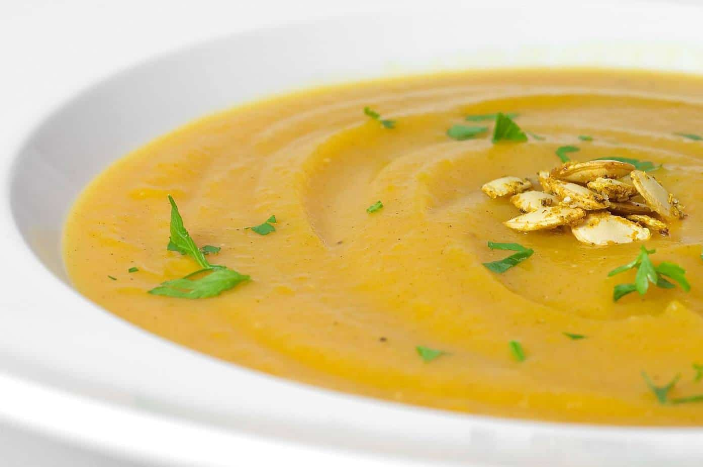 Curried Butternut Squash Soup Recipe | Healing the Body