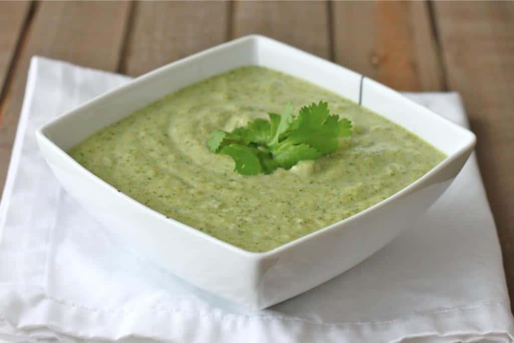 Cream of Broccoli Soup Recipe (Vegan)
