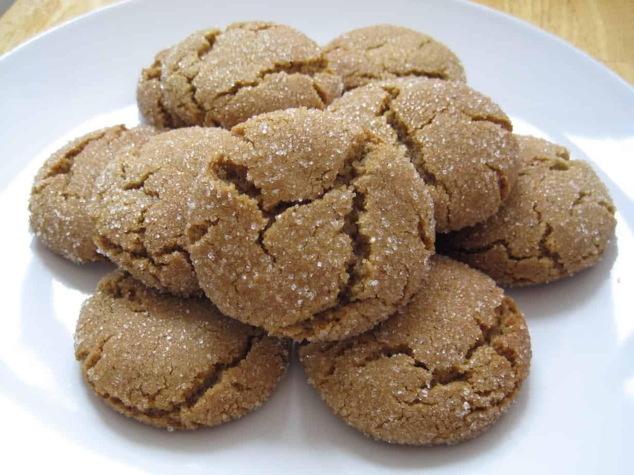 Gluten-Free, Soft, Chewy Ginger Cookie Recipe | Healing ...